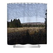 Impressionist Meadow Shower Curtain