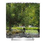 Impressionist Series #1 Shower Curtain
