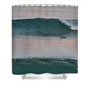Impressionist Surfing  Shower Curtain