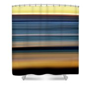 Impressionistic Sunset 1393 Shower Curtain