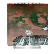 Impressions 8 Shower Curtain