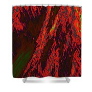 Impressions Of A Burning Forest 10 Shower Curtain