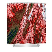 Impressions Of A Burning Forest 12 Shower Curtain
