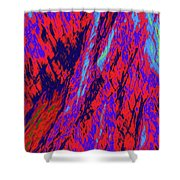 Impressions Of A Burning Forest 16 Shower Curtain