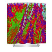Impressions Of A Burning Forest 17 Shower Curtain