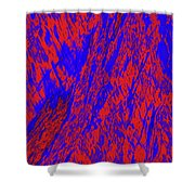 Impressions Of A Burning Forest 21 Shower Curtain