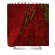 Impressions Of A Burning Forest 3 Shower Curtain