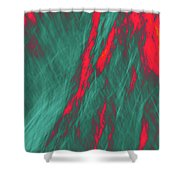 Impressions Of A Burning Forest 4 Shower Curtain