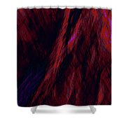 Impressions Of A Burning Forest 8 Shower Curtain
