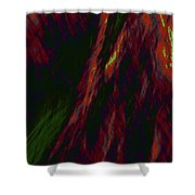 Impressions Of A Burning Forest 9 Shower Curtain
