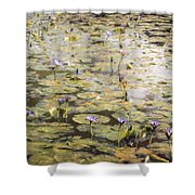 Impressions Of Giverny Shower Curtain