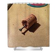 Improv Corkscrew Shower Curtain