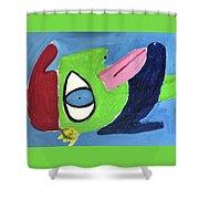 Improvisation Shower Curtain