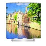 In Bruges Shower Curtain
