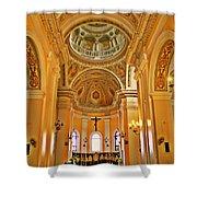 In Church Shower Curtain