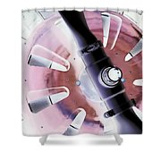 In Color Abstract 12 Shower Curtain