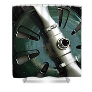 In Color Abstract 13 Shower Curtain