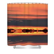In Color Three  Shower Curtain