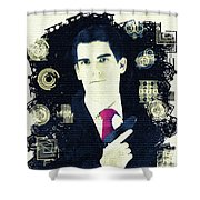 In From The Cold - Spy Shower Curtain