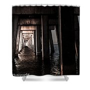 In From The Darkness  Shower Curtain