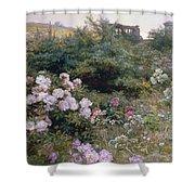 In Full Bloom  Shower Curtain by Henry Arthur Bonnefoy