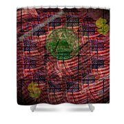 In God We Trust All Others Pay Cash Shower Curtain
