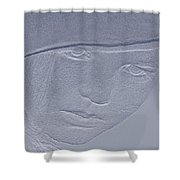 In Her Eyes 2 Shower Curtain