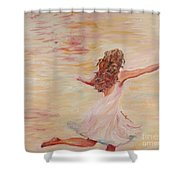 In Him We Live Shower Curtain