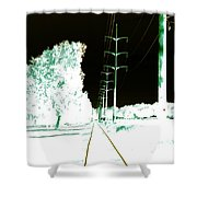 In Line Shower Curtain