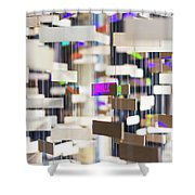 In London Museums 12 Shower Curtain
