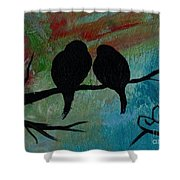 In Love Iv Wr Shower Curtain