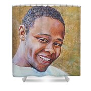 In Memory Of A Young Life Shower Curtain