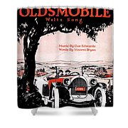 In My Merry Oldsmobile Shower Curtain