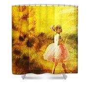In My Pink Tutu Shower Curtain