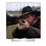 In My Sights Shower Curtain