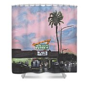 In N Out Burger Pasadena California Shower Curtain