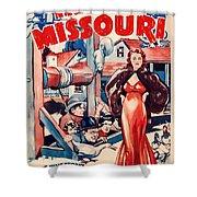 In Old Missouri 1940 Shower Curtain