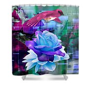 In One's Element Shower Curtain