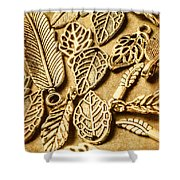 In Ornamental Nature Shower Curtain