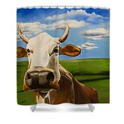 In Pasture Shower Curtain