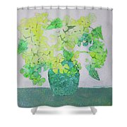 In Pender Island Shower Curtain