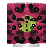 In Perspective Shower Curtain