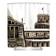 In Pisa Shower Curtain
