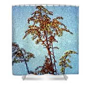 In Praise Of Weeds II Shower Curtain