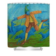 In Pursuit Of Anything. Shower Curtain