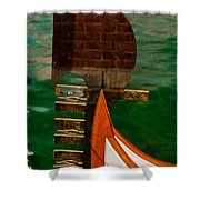 In Reflection Shower Curtain