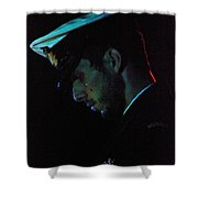 In Repose Shower Curtain