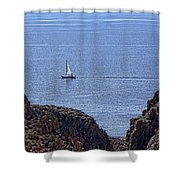 In Search Of Atlantis-3 Shower Curtain