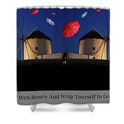 In Search Of Beauty Shower Curtain