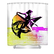 In Strength, Beauty Il Shower Curtain